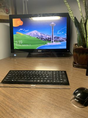 "Acer T232HL - 23"" IPS LED Monitor with Speakers - FullHD for Sale in Wichita, KS"