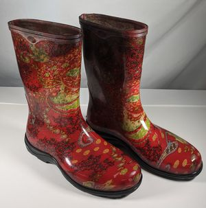Sloggers Rain Snow Boots - Red - Size 8 for Sale in McMinnville, TN