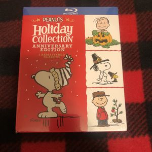 Charlie Brown Peanuts Holiday Collection Anniversary Edition! Blu-Ray! NEW In Package! for Sale in Fort Worth, TX
