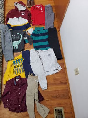 Boy's clothes size 5T and shoe size 11 in great conditions for Sale in Kent, WA