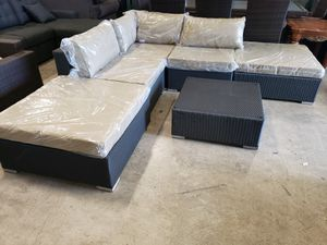 New 6pc outdoor patio furniture set tax included delivery available for Sale in Hayward, CA