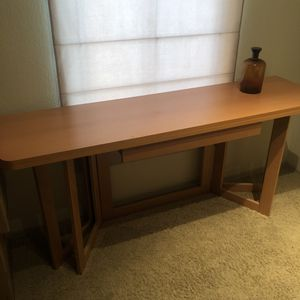 Ikea Console Table Converts to Dining Table for Sale in Scottsdale, AZ