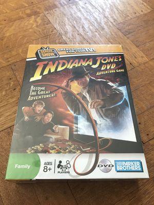 INDIANA JONES DVD GAME NEW SEALE for Sale in CAPE ELIZ, ME
