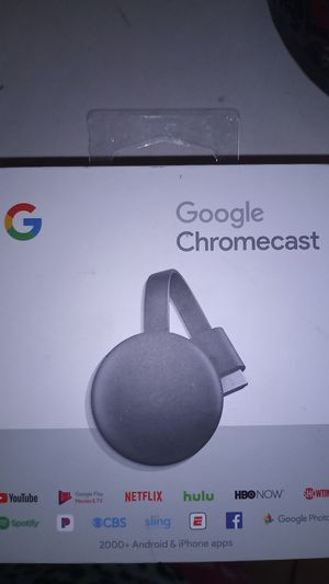Google Chromecast $20 for Sale in Los Banos, CA