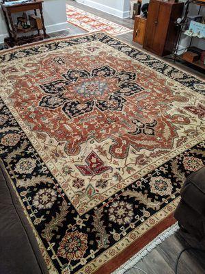 9.2x12 Rug Handmade Wool Heriz for Sale in Apex, NC