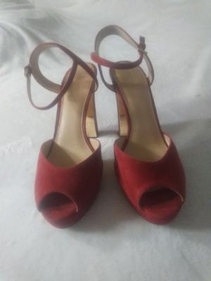 Red and Gold Michael Kors Sandals for Sale in Phoenix, AZ