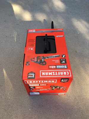CRAFTSMAN S180 18-in 42-cc 2-Cycle Gas Chainsaw for Sale in Vernon Hills, IL
