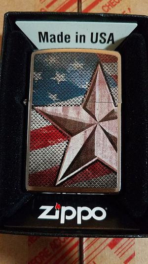 Zippo retro star brushed chrome 28653 for Sale in Los Angeles, CA