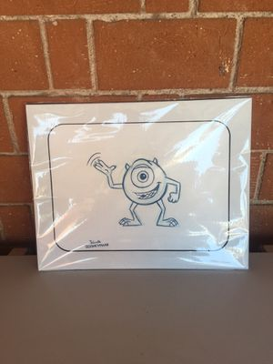 Monster's Ink Mike Drawing-$25.00 for Sale in Phoenix, AZ