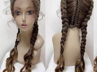 Braided wig for Sale in Marietta,  GA