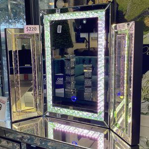 Led Vanity Mirror With Crystals for Sale in Fort Lauderdale, FL