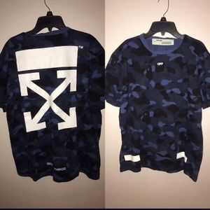 L Off White/Bape Shirt for Sale in Chicago, IL