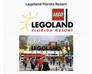 Legoland Florida 2 day General admission tickets for 2 for Sale in Tampa, FL