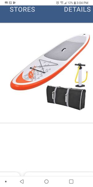 Inflatable kayak with pump for Sale in Aurora, IL