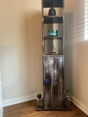 skinny shelf, great for small space more storage for Sale in Chandler, AZ