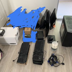 Computer Parts/Accessories/Monitors (Part List In Description) for Sale in Los Angeles, CA