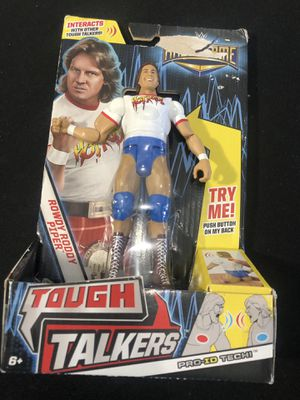 Tougher Talker action figure ROWDY RODDY PIPER New for Sale in Bothell, WA