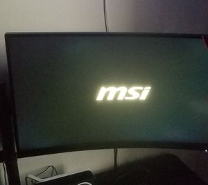 Msi 27 curved monitors 165hz for Sale in Locust, NJ