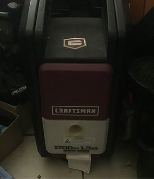 craftsman 1700 psi pressure washer w gun( for Sale in Brisbane, CA