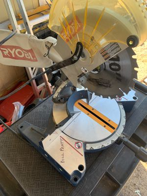 Ryobi saw. Barely used great condition for Sale in Tucson, AZ