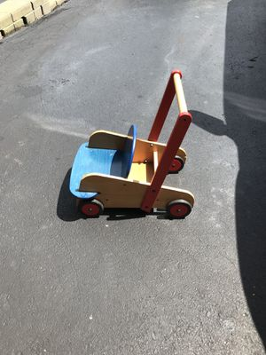 Antique HABA Vintage Wooden Doll stroller for Sale in Monroeville, PA