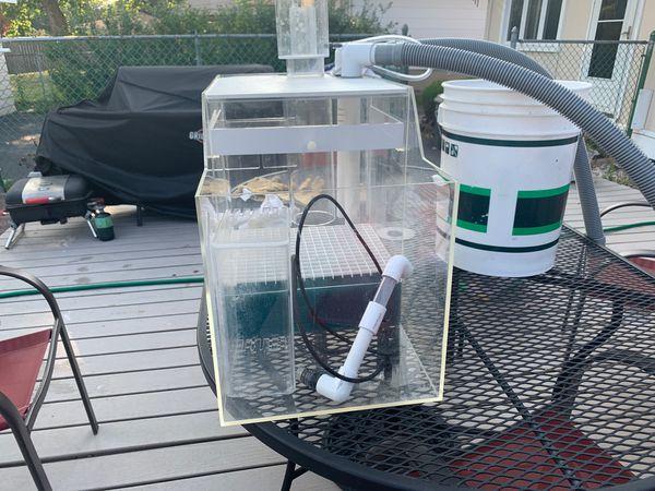 Sump System for salt water aquarium
