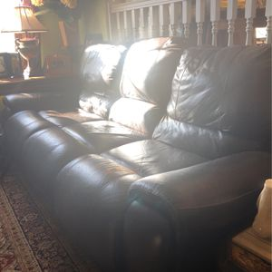 Couch too and recline for Sale in Douglasville, GA