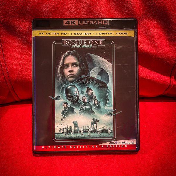Star Wars: Rogue One Blu-Ray + 3D + Digital (No UHD disk)