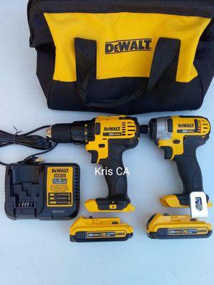 Dewalt 20v drill kit 2.0 batteries for Sale in Industry, CA