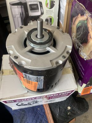 Evaporative cooler motor 3/4 HP excellent working condition open box never used for Sale in Las Vegas, NV