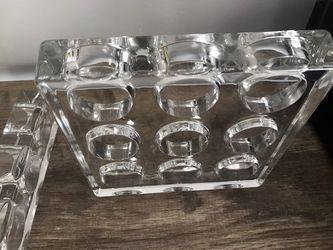 Glass candle holders Holds tea light size candles for Sale in Malden,  MA