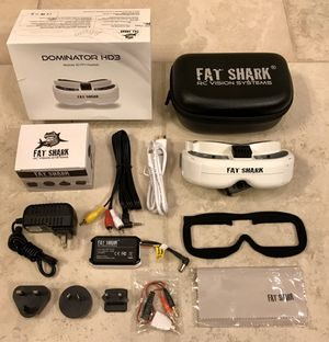 Fat Shark Dominator HD3 FPV Headset/Goggle - FSV1076 for Sale in Phoenix, AZ