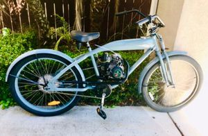 Motorized Phantom Bicycle / bike - 49cc 50cc moped scooter like new Motoped, 4 stroke, for Sale in San Diego, CA
