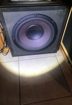 Polk audio surrounds sound speakers and Klipsch subs for Sale in San Diego, CA