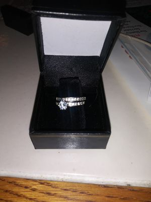 Sterling silver size 6 wedding set for Sale in Colorado Springs, CO