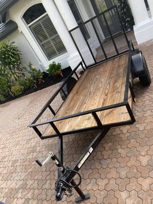 Trailer utility 5 x 10 2015 for Sale in Naples, FL
