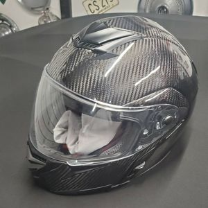 Brand New Carbon Fiber Module Motorcycle Helmet Size Large Mars DOT for Sale in Niles, IL