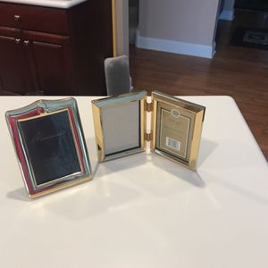 Polished Brass Picture Frames- $5 Each for Sale in Barrington, IL