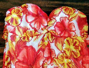 NEW XHILARATION Ladies Beautiful Long Flowing Hawaiian Dress ~ Sz Large 12-14 for Sale in San Marcos, CA
