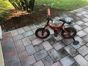 Child's 1 st bike with training wheels for Sale in Bonita Springs, FL