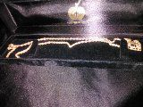10kt gold yellow and rose gold chain and charm. for Sale in Phoenix, AZ