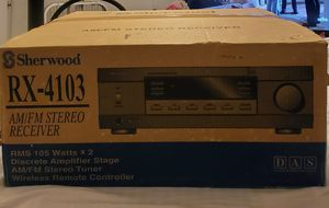 Brand New Sherwood RX-4103 AM/FM Stereo Receiver for Sale in Chicago, IL