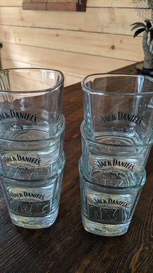 Jack Daniels old number 7 antique glasses for Sale in Shelbyville, TN