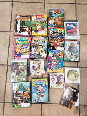Lot of PC Games for Sale in Fontana, CA