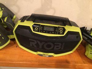 Ryobi Bluetooth18V Jobsite Radio! only 50 tomorrow 👍🏽👍🏽💥💥⌛️⌛️ for Sale in Irving, TX