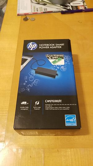 Genuine HP Notebook AC Adapter. New in box for Sale in Pembroke Pines, FL