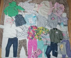 Girl clothes lot 2t/3t jacket sweatshirt jeans pants dresses bugs boots and more for Sale in Chicago, IL