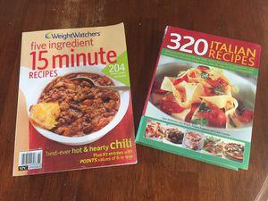 Recipe books $5 for both for Sale in Virginia Beach, VA