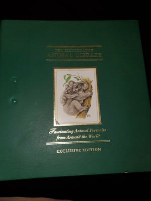 The illustrated Animal Library exclusive edition for Sale in San Diego, CA