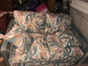 Love seat with swivel chair for Sale in Branchburg, NJ